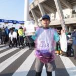 第27回青島太平洋マラソン 完走 2013.12.08