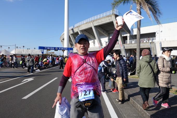 2014青島太平洋マラソン完走