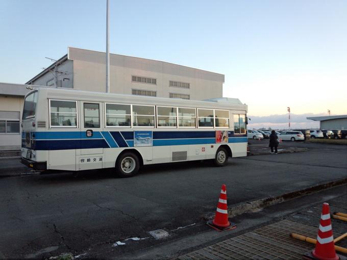 2014青島太平洋マラソンシャトルバス