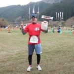 日本一の桜の里健康マラソン 完走しました。