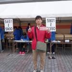 青島太平洋マラソン事前受付に行ってきました。