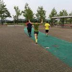 宮崎ナイトリレーマラソンの練習をしました。2017.07.25