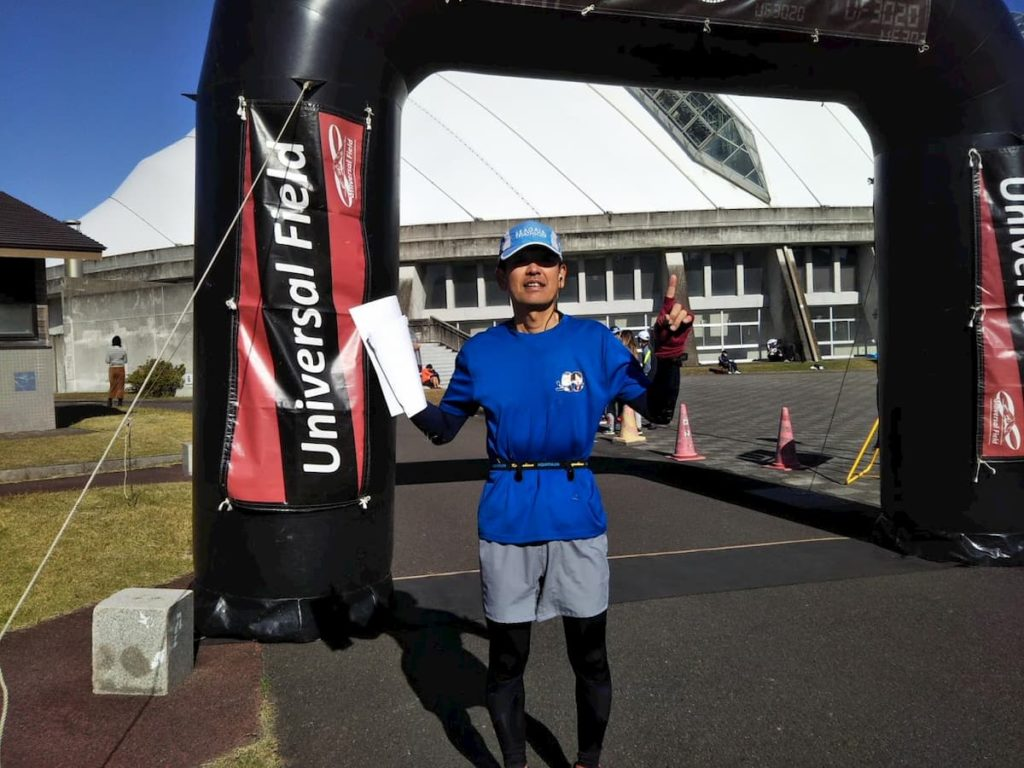 第1回UFフルマラソンin宮崎完走しました。サブ4・自己新更新♪